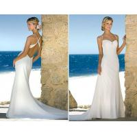 Buy cheap 2011 new style sexy low back beach bridal gowns from wholesalers