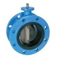 Buy cheap cast iron 2 ~ 120 Butterfly Valves For Sewage DIN2501 PN10 EN 593 from wholesalers