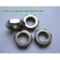 Buy cheap Hex Jam Nut / Din 439 / Hex Thin Nut from wholesalers