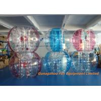 Buy cheap Customized Double Inflatable Human Bubble Ball For Leisure Centre , Park product