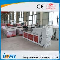 Buy cheap Jwell sound insulation  PVC (WPC)  fast loading wallboard extrusion line for door cover lines from wholesalers