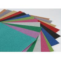 Buy cheap Handcraft Works Glitter Paper Craft Paperboard With Glitter For Paper Greeting Card from wholesalers