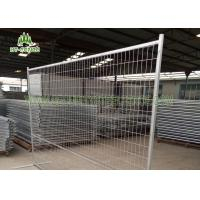 Buy cheap Square Tube Frame Temporary Fence Panels , Construction Temporary Fencing from wholesalers