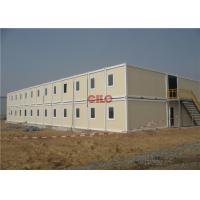 Buy cheap Waterproof Prefab Portable Accommodation Buildings 2 Storey Lightweight from wholesalers