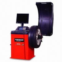 Buy cheap ±1g Wheel Balancer with 0.2kW Motor Power and 220/110V Voltage from wholesalers