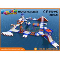 Buy cheap Custom Giant PVC Tarpaulin Inflatable Floating Water Park High Durability from wholesalers
