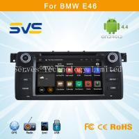 Buy cheap Android 4.4.4 car dvd player for BMW E46 1998-2006 with Multipoint capacitive touch screen from wholesalers