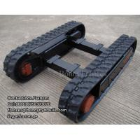 Buy cheap custom built rubber crawler track undercarriage from wholesalers
