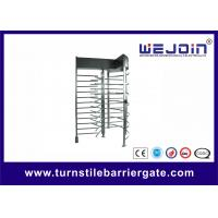 Buy cheap Exhibition Stainless Steel Access Control Turnstile Gate Standard RS485 from wholesalers