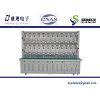 China 12 Pcs Single Phase Prepaid Digital KWH Meter Test Bench 0.5mA~120A Current Range,0.05% Accuracy Class on sale