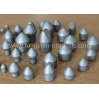 Buy cheap YG11 Tungsten Carbide Mining for Rock / Oil Drilling , Tungsten Carbide Buttons Tips from wholesalers