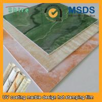 Buy cheap Realistic Wood Grain Laminate Film , Heat Transfer Printing Film For Plastic Products from wholesalers