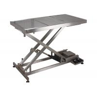 Buy cheap SUS 304 Veterinary Surgery Table For Pets , Electrical Veterinary Lift Table product