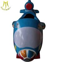 Buy cheap Hansel wholesale fast profits import from china mini electric kids ride on airplane from wholesalers