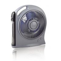 Buy cheap Various Function Automotive Cooling Fans With LED Light , Rechargeable Battery Fan from wholesalers