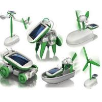 Buy cheap 6 in 1 DIY Robot Kit Solar Powered Robot For Children Education from wholesalers