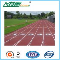 Buy cheap Exercise Recycled Rubber Outdoor Flooring Permeable Jogging Track Material from wholesalers