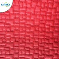 Buy cheap Synthetic Leather Material  Embroidered Shoe leather from wholesalers