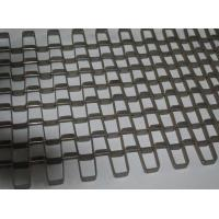 Buy cheap Food Drying Stainless Steel Conveyor Chain Belt Silver High Temperature Resistant from wholesalers