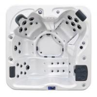 Buy cheap Acrylic Jacuzzi Bathtub SPA for 4 Persons product