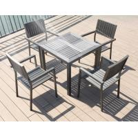Buy cheap New design Poly Plastic wood Aluminium chairs and table Hotel Outdoor Garden Patio chair from wholesalers