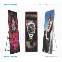 Buy cheap 2.5mm Pixel Pitch LED Poster Display Sign Media Tool Digital Signage 1G1R1B from wholesalers