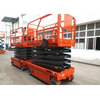 Quality Manganese Steel Self Propelled Aerial Work Platform Auto Brake System for sale
