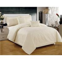 Buy cheap Solid Quilts Ultrasonic Embossed 5pcs Quilt set Twin Full Queen King Size Cotton Touch Brushed from wholesalers
