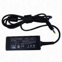Buy cheap Notebook EPC Mini AC Adapter with 4.0 x 1.7mm Connector, Suitable for HP Laptops from wholesalers