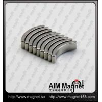 Buy cheap Permanent Sintered Arc Ndfeb Magnet from wholesalers