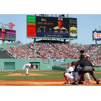 Buy cheap 5mm Pixel Pitch Stadium Led Signs , Led Perimeter Boards 140° Viewing Angle from wholesalers