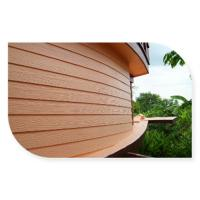 Buy cheap Multi Coloured Fibre Cement Board Cladding With Wood Texture CE Approved from wholesalers
