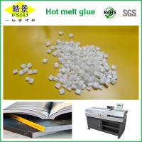 Buy cheap Milk Granule Bookbinding Glue EVA Hot Melt Adhesive For Binding Machines from wholesalers