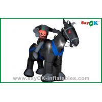 Buy cheap Party Decoration Inflatable Horse / Knight Huge Inflatable Kids Toys Oxford Cloth from wholesalers