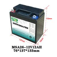 Buy cheap 12V Lead-Acid Replacement Medical Device Lithium Battery Electric Tools Power Long Cycle from wholesalers