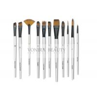 Buy cheap 11pcs Art Body Paint Brushes Set for Oil Painting / Craft , Nail , Face Paint from wholesalers