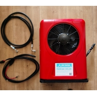Buy cheap Battery Power DC12V Truck Parking Air Conditioner 9000BTU from wholesalers