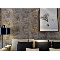 Embossed 3d Home Wallpaper Wall Coverings With Removable