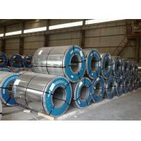 Quality Regular Spangle Electro Galvanised Steel Coils , Galvanized Sheet Metal Rolls for sale