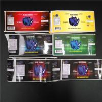 Buy cheap PVC Transparent Shrink Sleeve Labels Barcode Metallic Holographic For Box / Pill Bottle from wholesalers