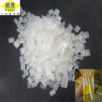 Buy cheap Pure Transparent Non Toxic Hot Melt Pellets For Beverages Straw from Wholesalers