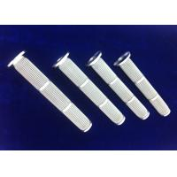 Buy cheap Anti Corrosion Sintered Metal Fiber Felt Cartridge For Molecular Polymer Industry from wholesalers