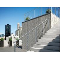 Buy cheap Stainless steel inox round 8mm rod railing for balcony/ stair exterior product