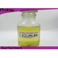 Buy cheap Cosmetic Grade Cocamidopropyl Betaine / CAB  for Detergent  61789 - 40 - 0 from wholesalers