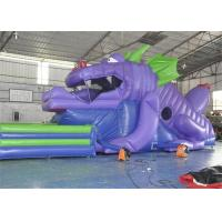 Buy cheap Customized Size Commercial Inflatable Slide, 18ft Inflatable Dinosaur Slide For Kids from wholesalers