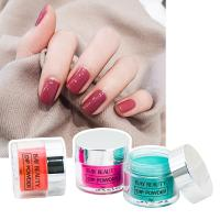 Buy cheap No need UV lamp glitter acrylic dipping fast drying dip powder bulk selling nails from wholesalers