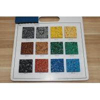 Buy cheap Fragmented Recycled Rubber Pellets Antibacterial Anti UV For Basketball Courts from wholesalers