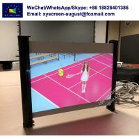 Buy cheap Mini Projection Screen for Outdoor 35 40 Manual Table Projector Screen from wholesalers