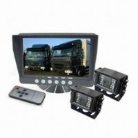 Buy cheap 7-inch LCD Monitor Car Rear View Camera for Heavy Duty, 12 to 24V DC Power Supply from wholesalers