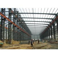 Buy cheap Easy / Quick Assembly Prefab construction Design professional sandwich panel prefabricated steel structure workshop from wholesalers